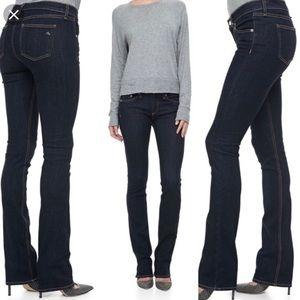 Rag & Bone Stiletto Boot Jeans in Soft Harrow Wash